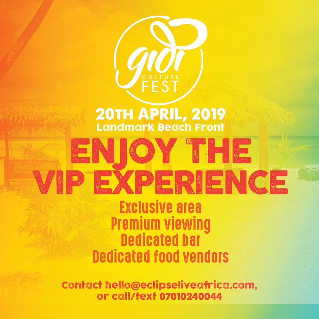 Gidi Culture VIP Experience