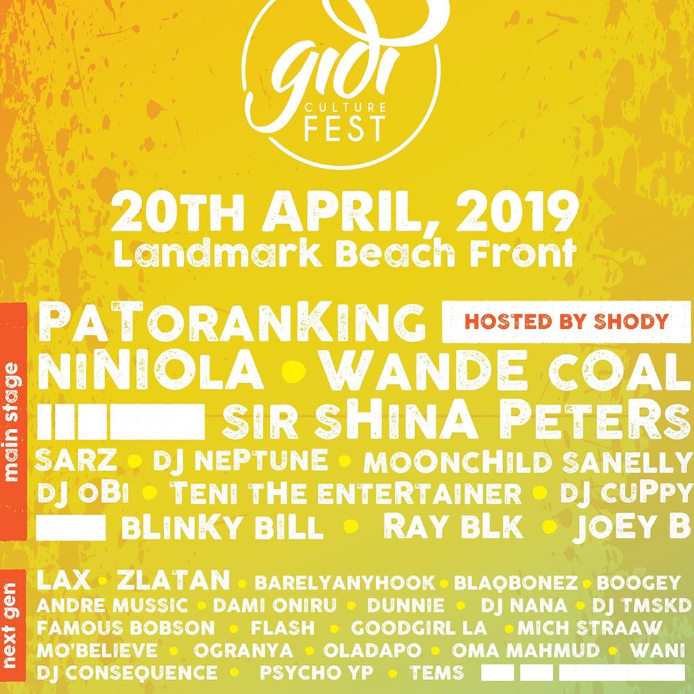 Gidifest press release 2019