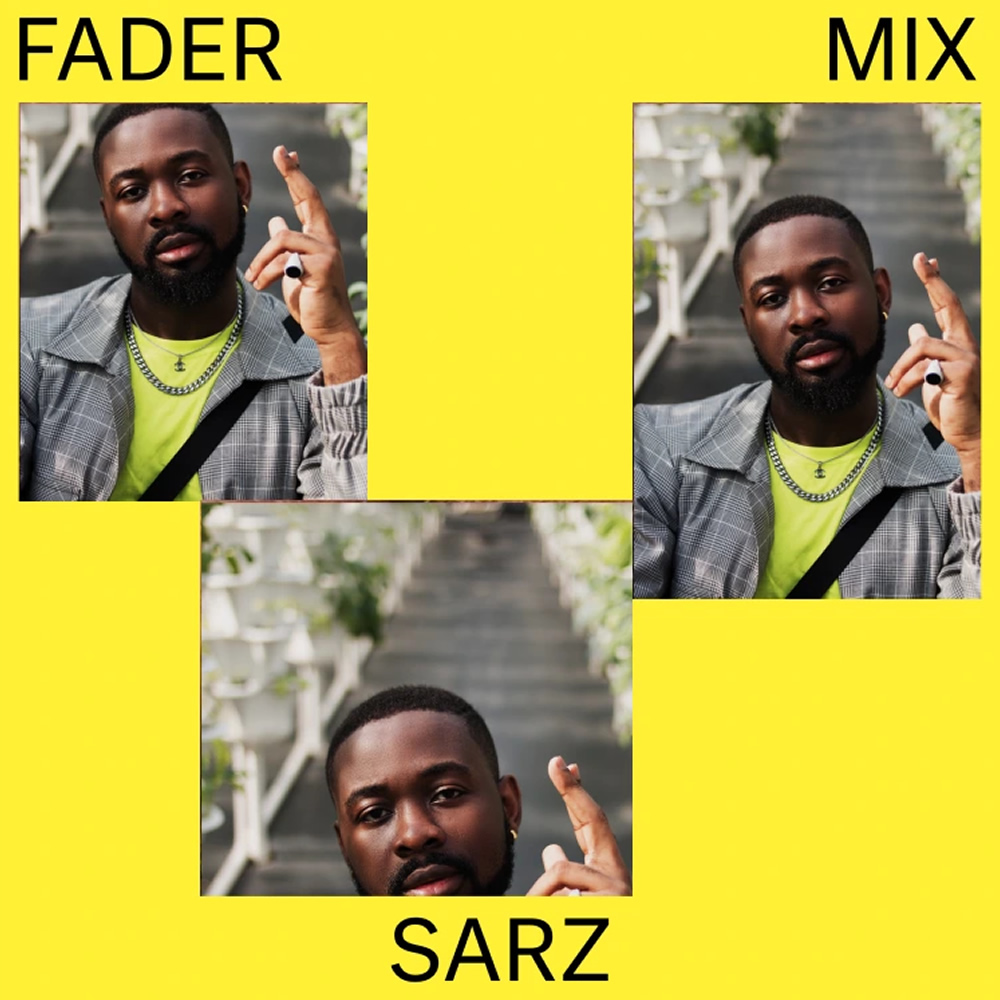 "FADER Mix by Sarz - tagging ""iconic"" Gidi Culture Fest"