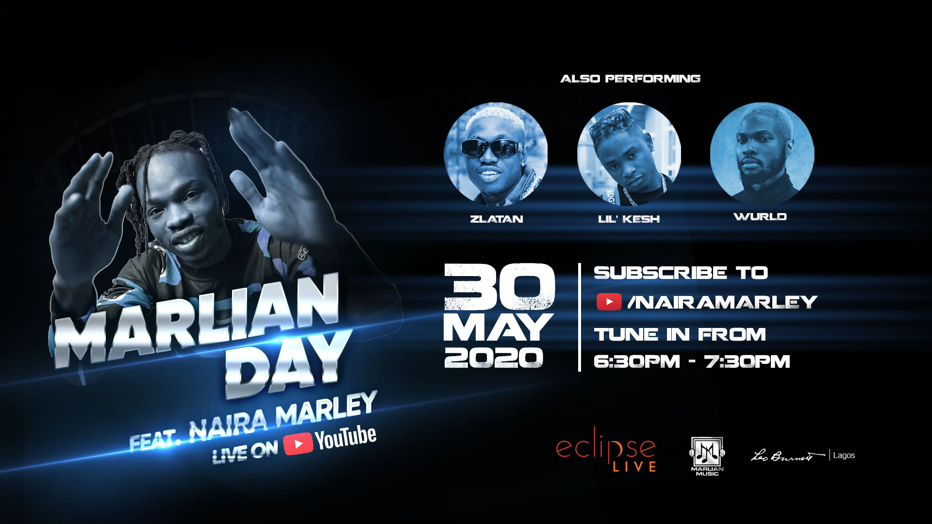 Marlian Day flyer gidi fest